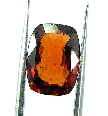 5.00 Ct Certified Natural Ceylon Hessonite/Gomed Loose Gemstone Stone - 44374