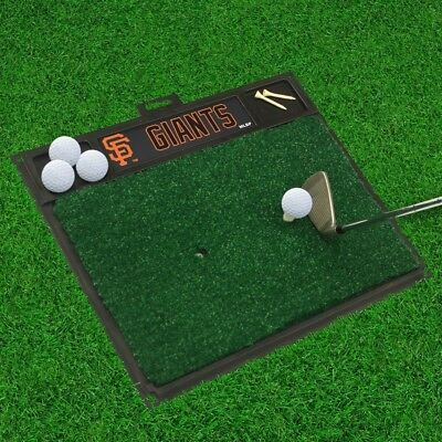 "San Francisco Giants Golf Hitting Mat 50cm "" x 43cm "". Fanmats. Best Price"