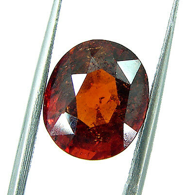 4.65 Ct Certified Natural Ceylon Hessonite/Gomed Loose Gemstone Stone - 44370