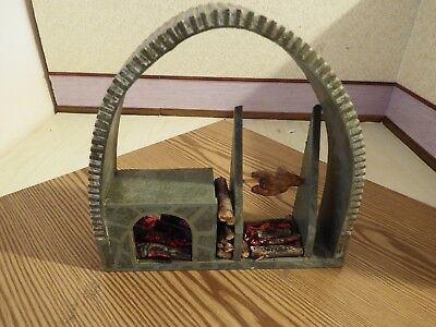 doll house furniture Tudor arched  cooking firplace  1.12