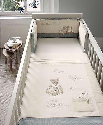 Mamas and Papas Once upon a time Boys Cot bumper only  BNWT