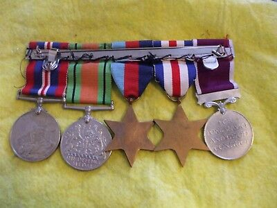Five Ww 11  Full Size Medals