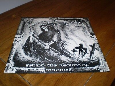 Sacrilege behind the realms of madness first press LP