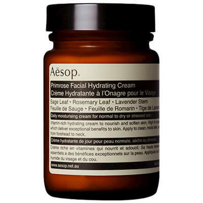 AESOP Primrose Facial Hydrating Cream 120ml #8430 DAMAGED LID