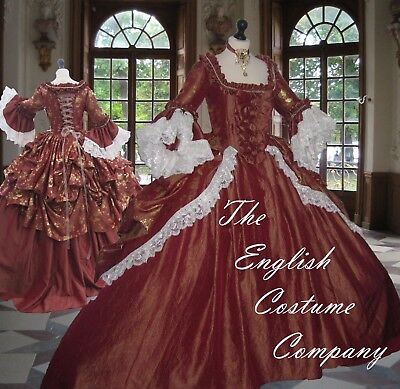 LAST ONE UP  Versailles Marie Antoinette Venice dressFULLY CORSETED