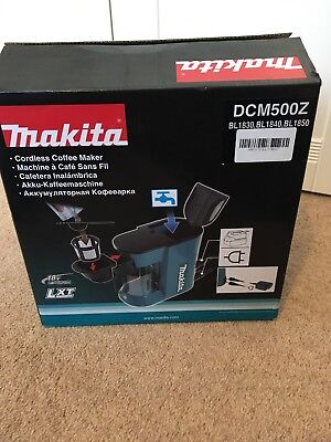 Makita DCM500Z 1 Cups Coffee Maker - Blue