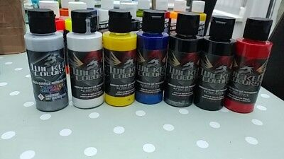 wicked airbrush paint & w500 reducer