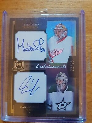 The Cup 2013-14  Petr Mirazek/ Jack Campbell Dual Enshrinements Auto 22/25