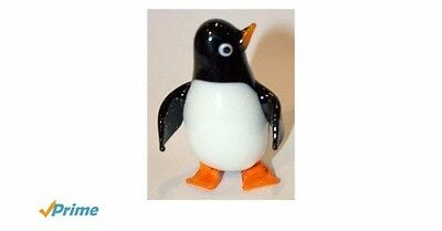 small glass puffin/pengiun new gift boxed