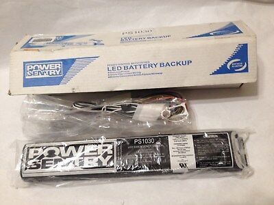 NEW POWER SENTRY PS1030 LED Reduced-Profile Emergency Driver install kit 10W30Vd