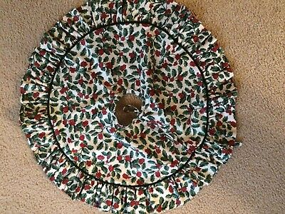 Longaberger Table Top Tree Skirt