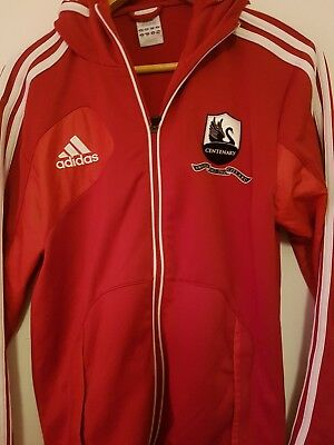 Swansea City Rare Centenary 1912 - 2012 Hooded Jacket Size Adult Small