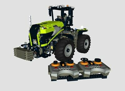 Der Xerion VC in RC Bulding Instruction/Bauanleitung LEGO® Technic