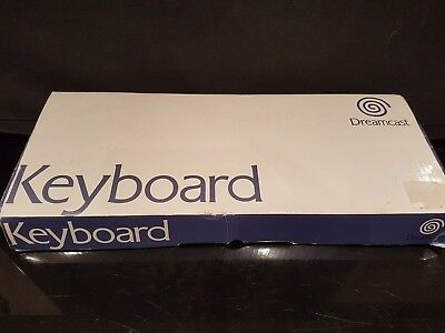Boxed Sega Dreamcast Keyboard. Never Used