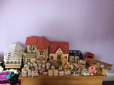 Sylvanian families Houses and families bundle