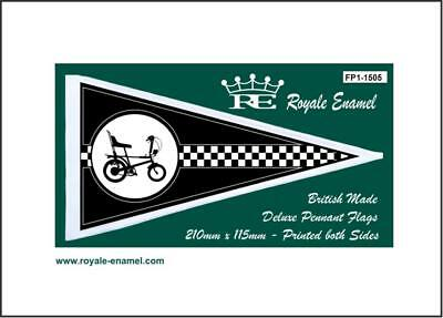 Royale Antenna Pennant Flag Raleigh Chopper Black Fp1.1505