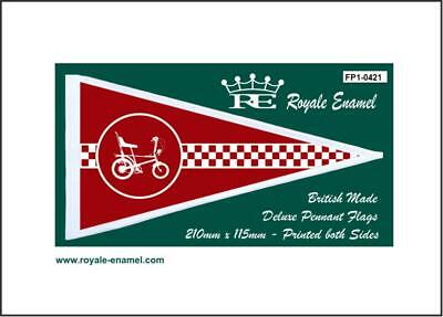 Royale Antenna Pennant Flag Raleigh Chopper Red Fp1.0421