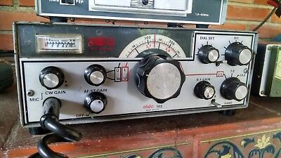 Alda 103 HF Ham Radio Transceiver for 80,40,20 Meters, Mic, DC Cable -WORKING-