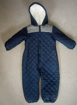 Next boys 2-3 years winter snow suit All in One
