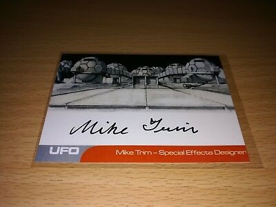 UFO Mike Trim Autograph by Unstoppable Cards 2017