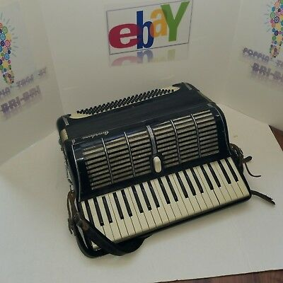 VINTAGE 50's ACCORDIANA ACCORDIAN- PERFECT WORKING CONDITION -  MINOR WEAR