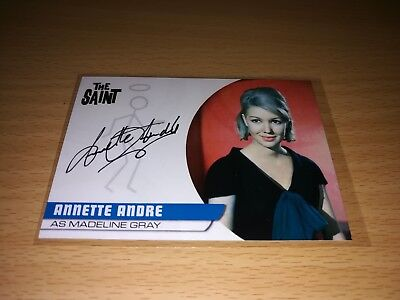 The Saint Annette Andre Autograph AA5 Card by Unstoppable Cards 2017