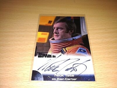 Space 1999 Nick Tate Autograph NT Card by Unstoppable Cards 2017