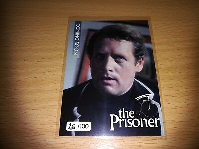 The Prisoner Promo Card 1 - Number 26/100 by Unstoppable Cards 2017