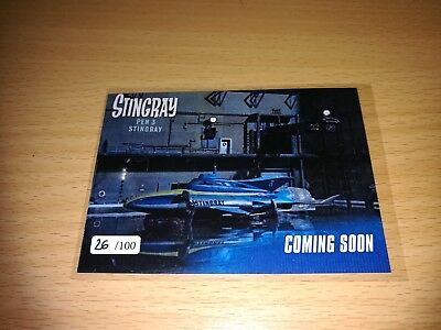 Stingray Promo Card 1 - Number 26/100 by Unstoppable Cards 2017