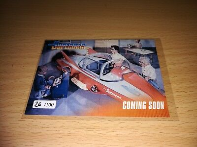 Supercar Promo Card 1 - Number 26/100 by Unstoppable Cards 2017