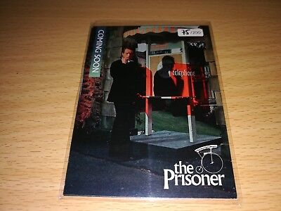 The Prisoner 4 different Promo Cards - Number 75/200 by Unstoppable Cards 2017