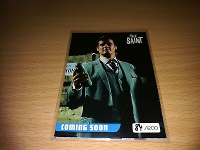 The Saint 4 different Promo Cards - Number 84/200 by Unstoppable Cards 2017