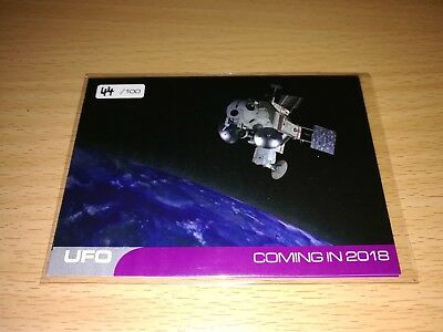 UFO 4 different Promo Cards - Number 44/100 by Unstoppable Cards 2017