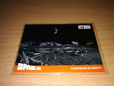Space 1999 4 different Promo Cards - Number 168/200 by Unstoppable Cards 2017