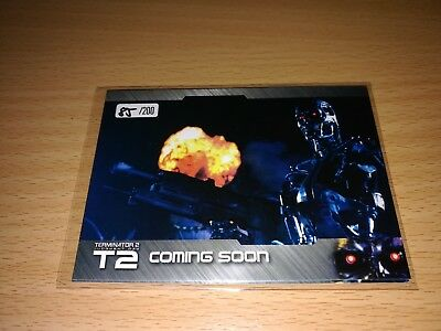 Terminator 2 - 4 different Promo Cards - Number 85/200 by Unstoppable Cards 2017