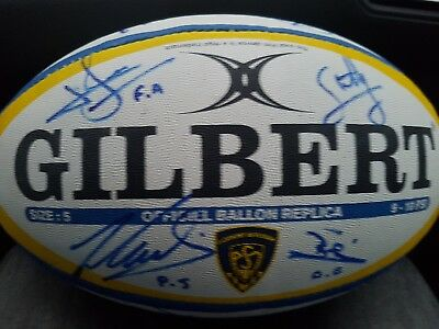 ballon rugby asm Clermont Auvergne