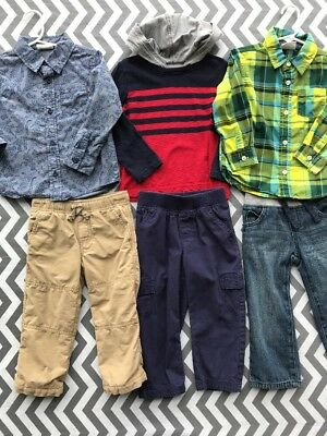 Lot Of Size 2T Toddler Boys Stylish Outfits Crazy 8 Gymboree