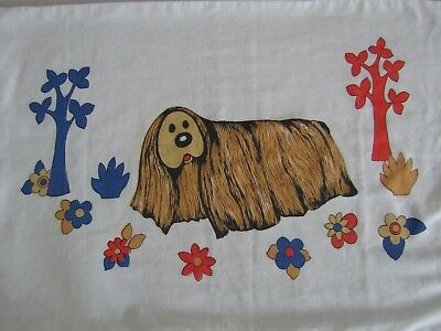 Vintage Magic Roundabout Dougal Pillow Case