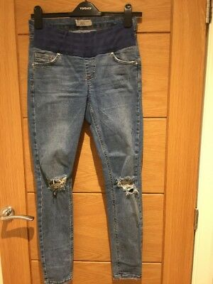 Topshop Size 8 Maternity Jeans