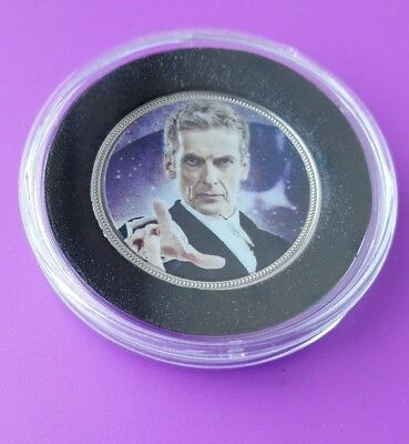 The Official Doctor Who Peter Capaldi Commemorative Medal