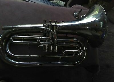 King Marching Baritone Horn & Case