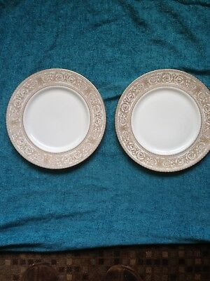 Royal Doulton Sovereign Two 10.5 Ins Dinner Plates