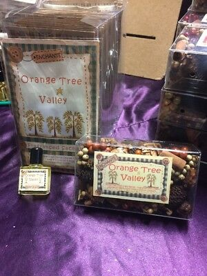 Pot Pourri, Reviver Oil & Scented Sachet - Orange Tree Valley - Gift Set