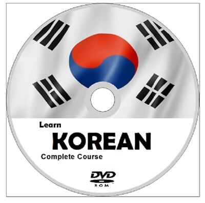 Learn to speak KOREAN COMPLETE Language Course CD MP3 AUDIO PDF TEXTBOOKS K POP