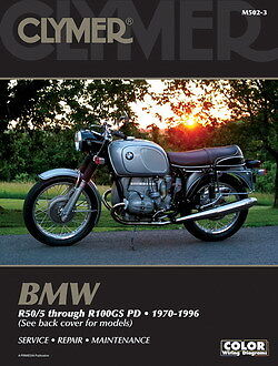 BMW R50 R60 R65 R75 R80 R100GS R100 R Series 1970-1996 Clymer Manual M502-3 NEW