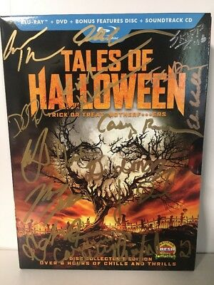 Tales of Halloween (Blu-ray DVD+CD) AUTOGRAPHED BY 19
