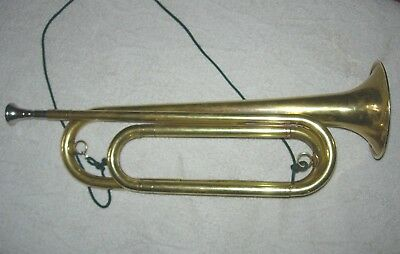 Vintage Rexcraft Trade Mark Bsa Boy Scouts Of America Official Bugle