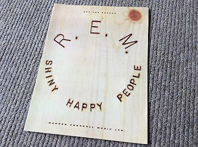 R.E.M. SHINY HAPPY PEOPLE Sheet Music For All Instruments