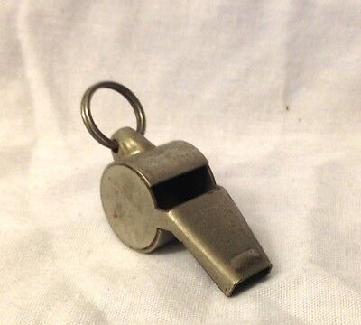 Vintage Crown Continental  Metal Whistle