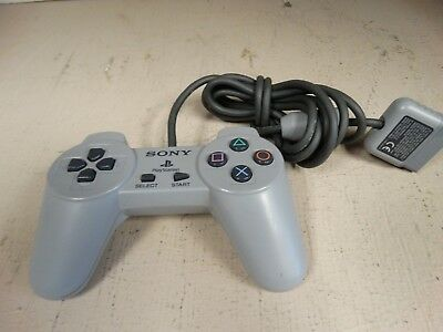 Official OEM Sony Playstation 1 PS1 SCPH-1080 Controller Good Condition Tested !